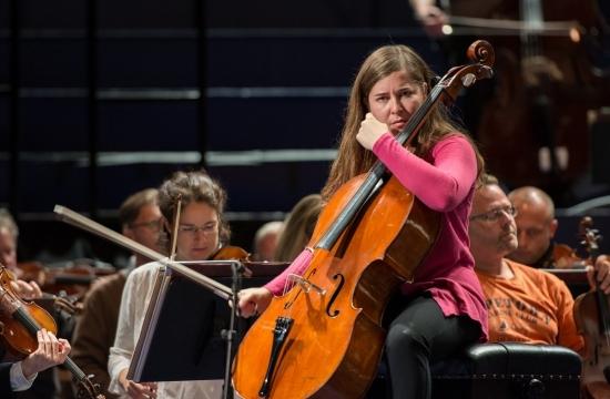 Zkouška sČeskou filharmonií vRoyal Albert Hall (2014)