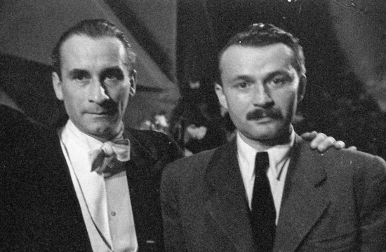 Karel Ančerl sAlfredem Radokem vroce 1946