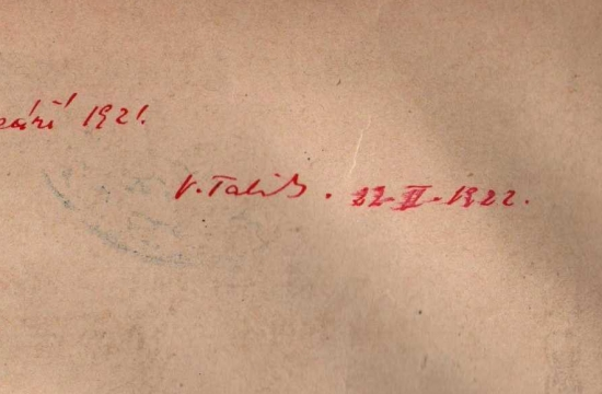 První vydání partitury Sukova Asraela III