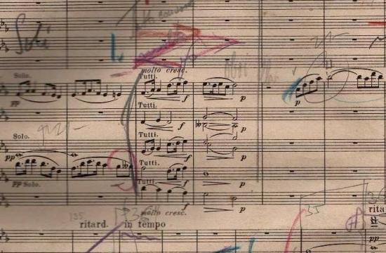 První vydání partitury Dvořákovy Novosvětské III