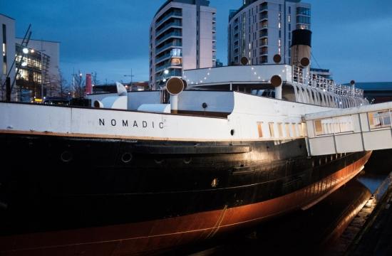 Parník Nomadic, zásobovací loď, která vroce 1911 přepravovala pasažéry anáklad mj. naslavný Titanic