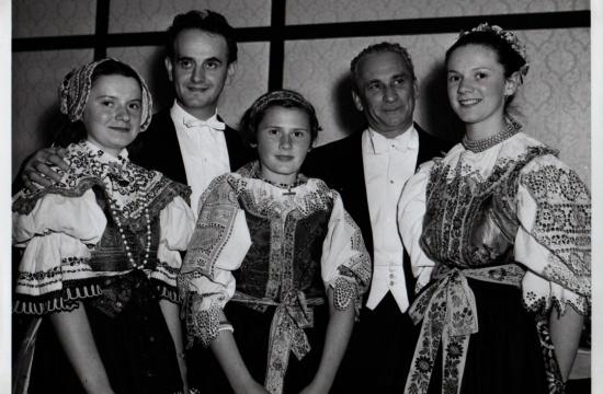 Jan Panenka, Karel Ančerl a české dívky