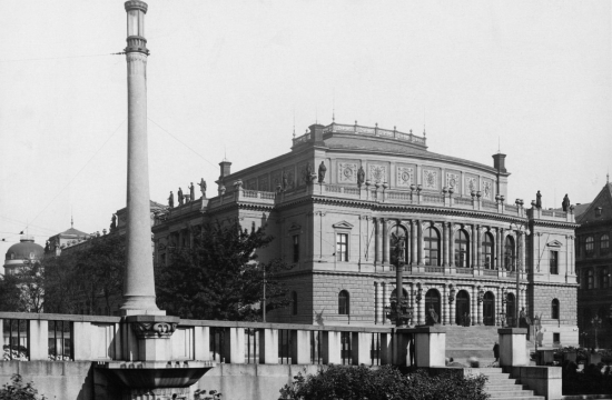 Rudolfinum jako sídlo parlamentu