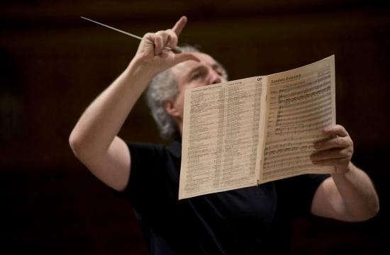 Rehearsing the Te Deum by Walter Braunfels