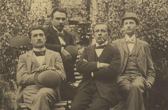 České kvarteto kolem roku 1894