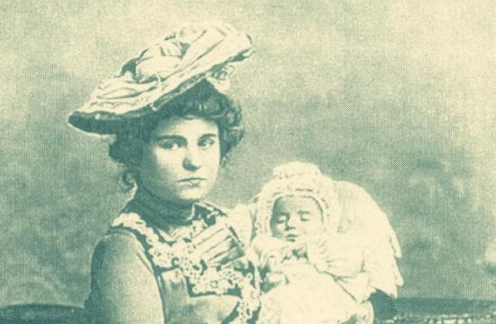 Otilie Suková se synem Josefem