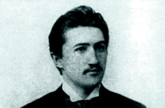 Podobizna Josefa Suka s dedikací Otilce