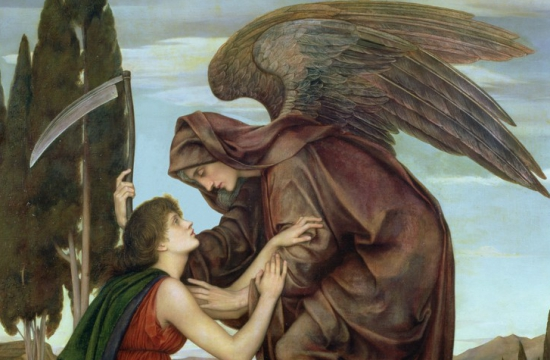 Evelyn de Morgan – Anděl smrti, 1881