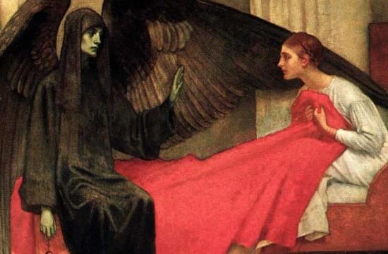 Marianne Stokes – Mladá dívka asmrt, 1900