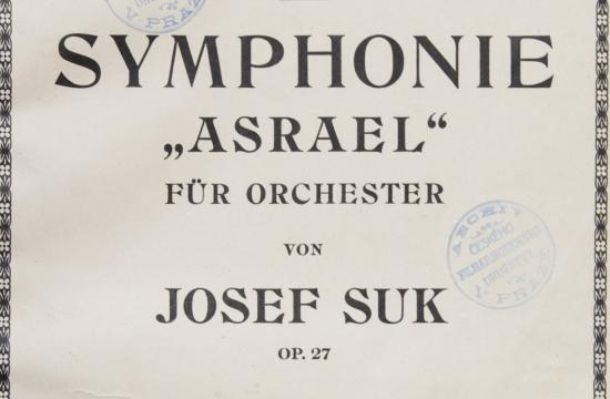 Partitura symfonie Asrael