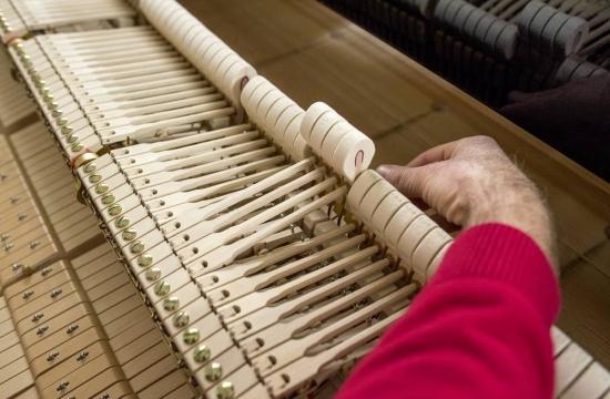 Jan Machart přiladění klavíru Steinway