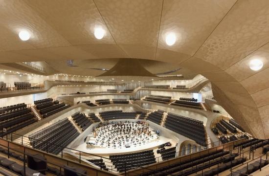 Hlavní koncertní sál Elbphilharmonie
