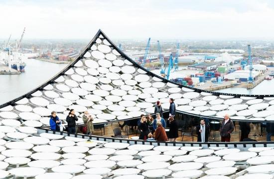 Vyhlídka nastřeše Elbphilharmonie