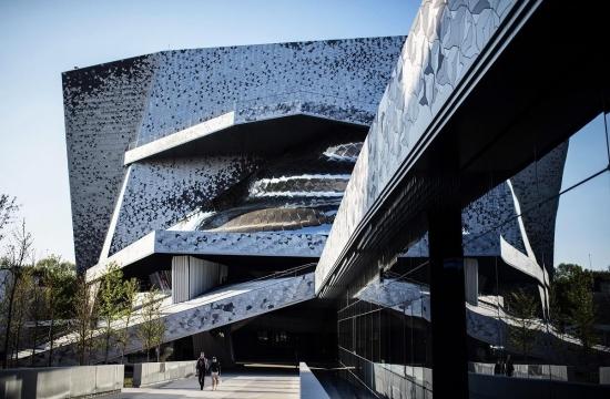 Budova pařížské filharmonie