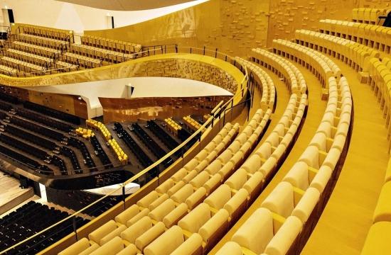 Velký sál pařížské filhamronie