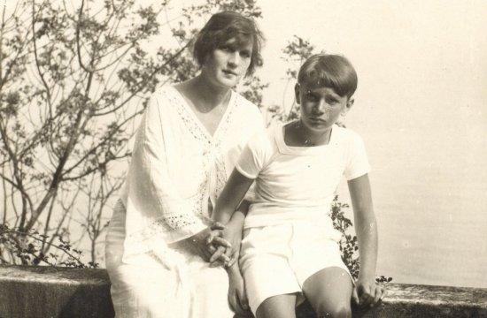 Rafael Kubelík smaminkou, hraběnkou Marianne Czáky-Széllovou