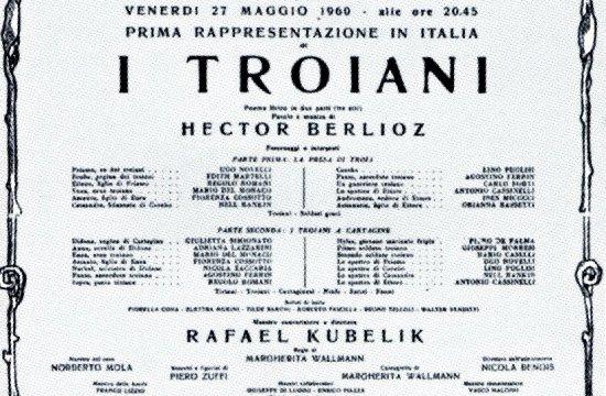 Plakát zvystoupení veslavné La Scala