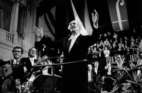 Rafael Kubelík naPražském jaru 1990