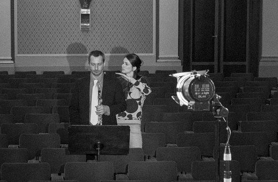 Hobojista Vladislav Borovka přednesl svůj part vSukově síni