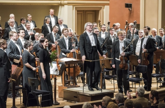 Dirigent Petr Altrichter vRudolfinu