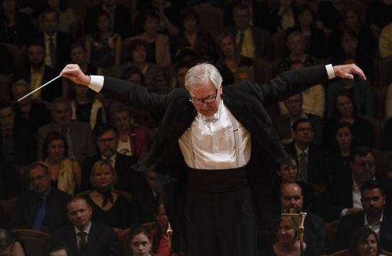 A Zkouška orchestru před večerním publikem