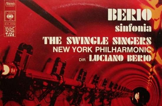 Obal vinylového vydání Sinfonie, New York 1968