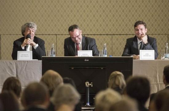 Press conference: Semyon Bychkov, David Mareček and concertmaster Jiří Vodička
