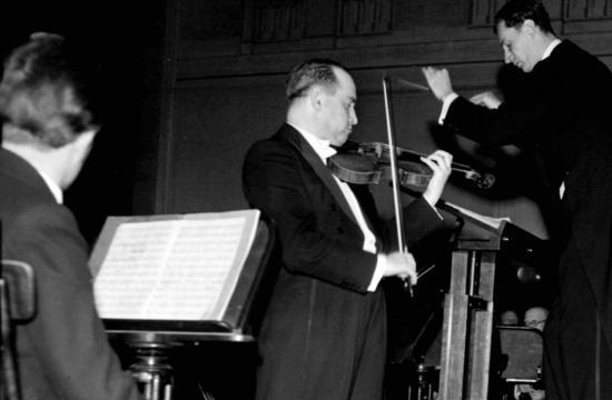 David Oistrach (debut 1946)