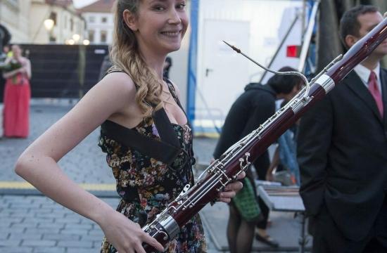 Open Air – koncert České filharmonie podširým nebem 2014