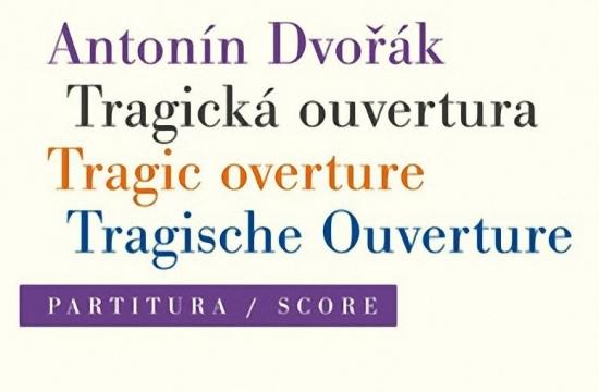 Obálka nového vydání Tragické ouvertury Antonína Dvořáka