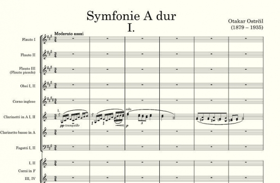 Otakar Ostrčil / Symfonie Adur