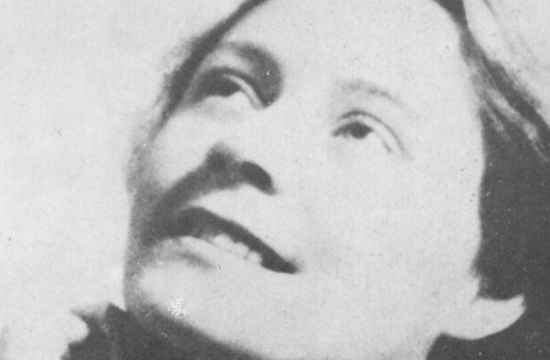 Portrét Vítězslavy Kaprálové