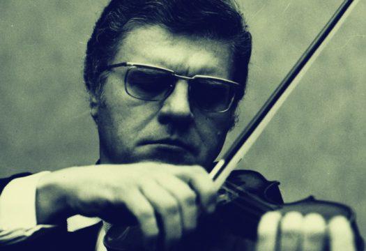 Houslista Josef Suk na fotografii ze 70. let 20. století