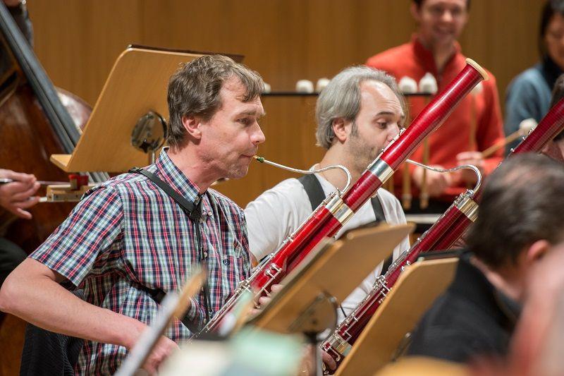 Fagotista České filharmonie Jaroslav Kubita