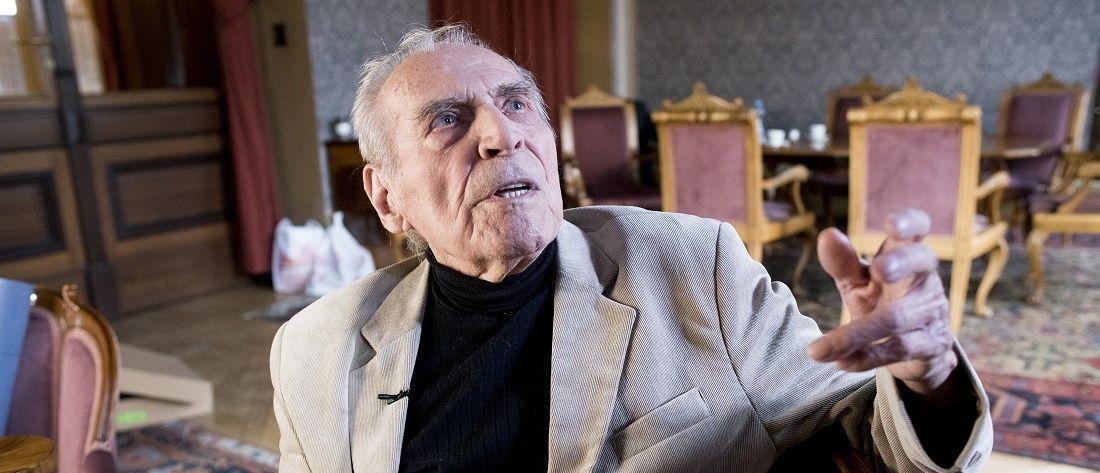 Flétnista Zdeněk Vaníček, nejstarší žijící člen České filharmonie