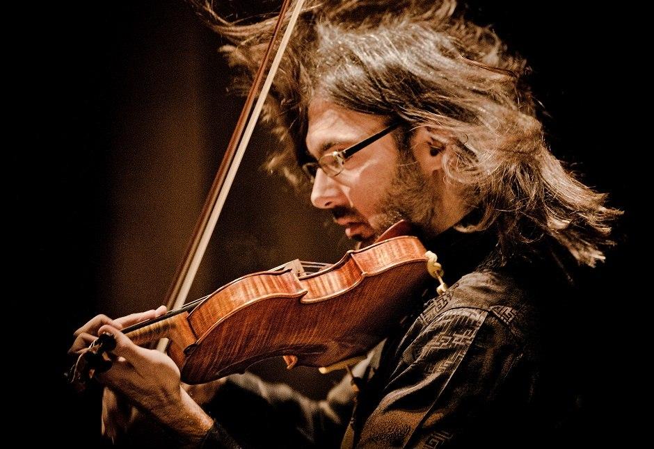 Řecký houslista Leonidas Kavakos