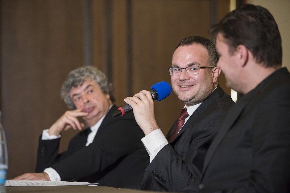 David Mareček a Semjon Byčkov na tiskové konferenci | Foto Petra Hajská