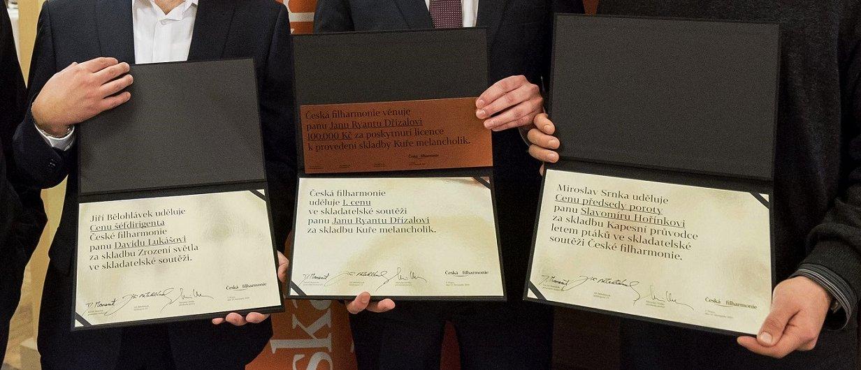 Diplomy – skladatelská soutěž 2014| Foto Petra Hajská