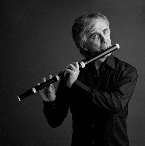 Dirigent a flétnista Giovanni Antonini