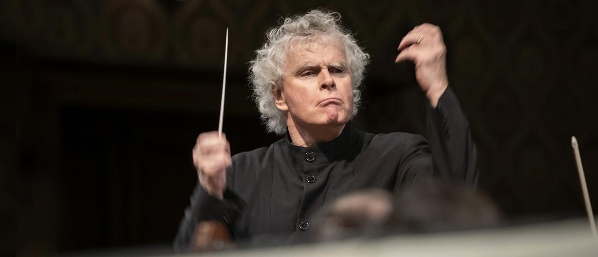 Dirigent sir Simon Rattle a Česká filharmonie