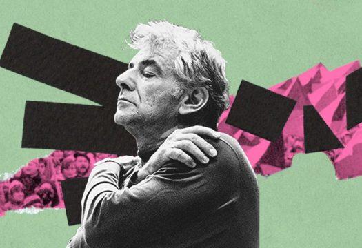 Grafika Leonard Bernstein