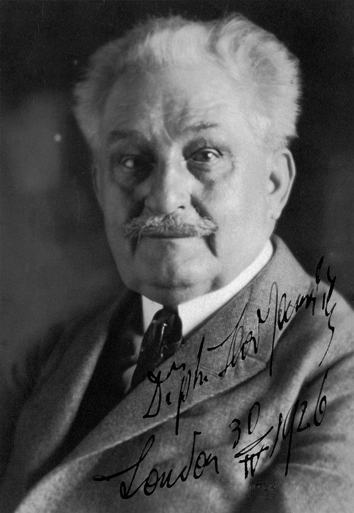 Hudební skladatel Leoš Janáček