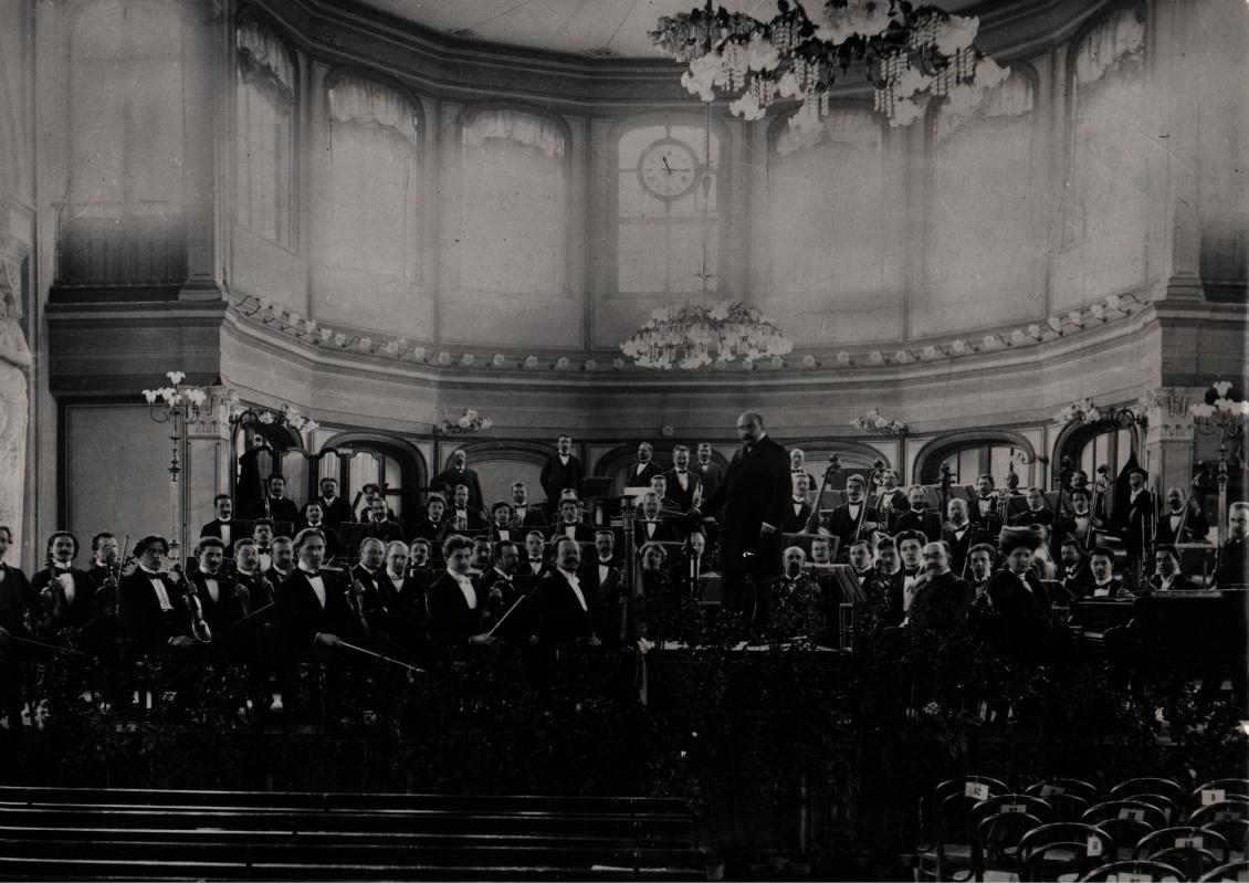 Česká filharmonie, Oskar Nedba,l 1904, Pavlovsk, Rusko