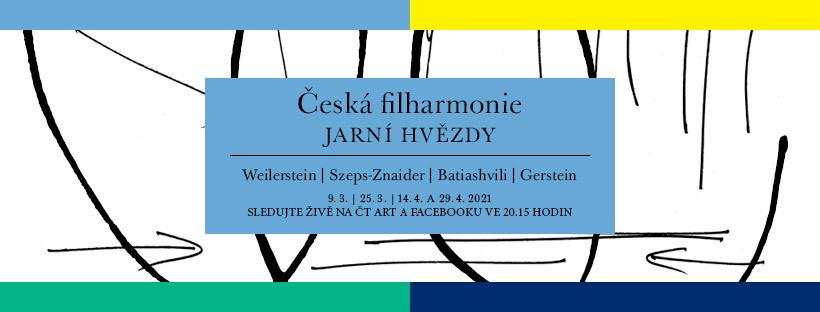 Jarní koncerty České filharmonie